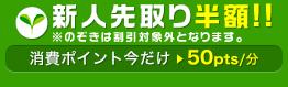 デビュー割引半額キャンペーン!!